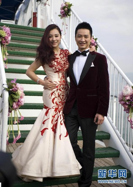 06c5b5bbba51 Celebrity Couples' Wedding Photos in 2013 - All China Women's Federation