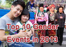 Top 10 Gender Events in 2013
