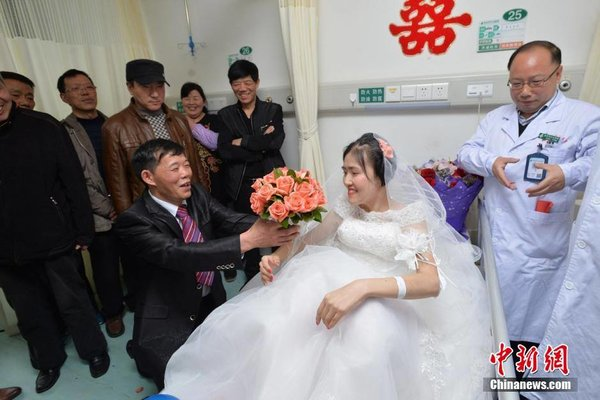 Man Proposes To Girlfriend Suffering Terminal Cancer All China