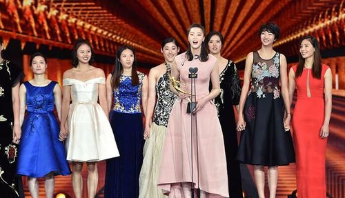 Women's Volleyball Team Wins 4 Awards at CCTV Sports Personality of the Year