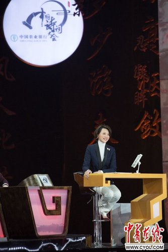 TV Host Dong Qing Speaks in Praise of Popular Poetry Recital Show