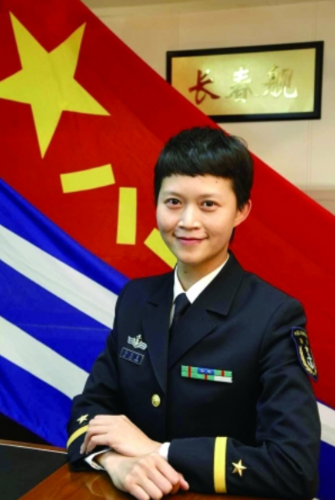 1st Female Navy Vice-Captain Takes Part in National Campaign, Hits Social Media Again