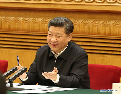 Xi Encourages Bigger Role of Internet Plus in Poverty Alleviation