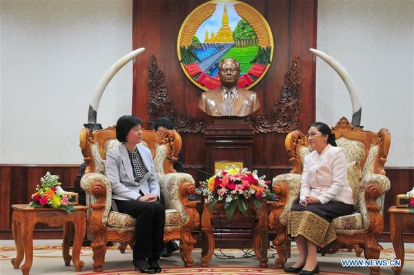 ACWF President Meets with Lao Top Legislator