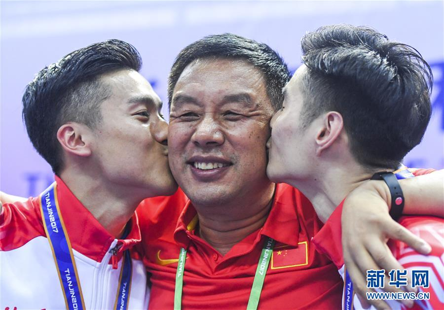 Smiling Faces at Chinese National Games