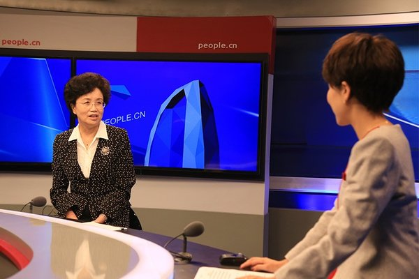 ACWF VP Gives Interview on China Women's Entrepreneurship, Innovation Contest