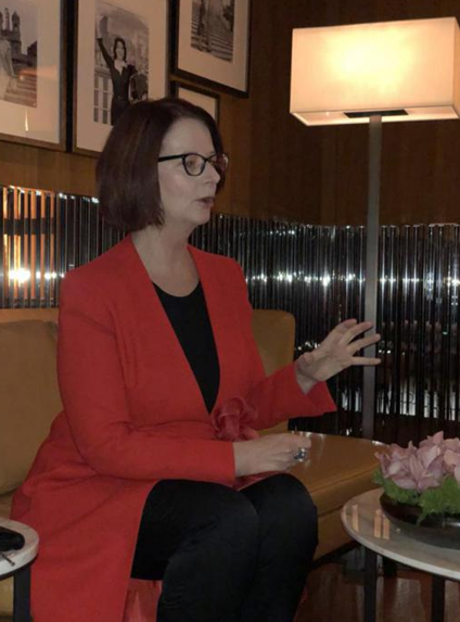Julia Gillard: World Keen to Learn from China's Education Experience