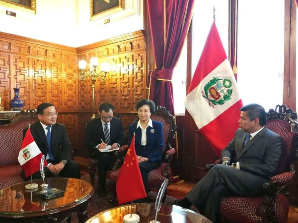 ACWF VP Promotes Spirit of CPC Congress in Peru