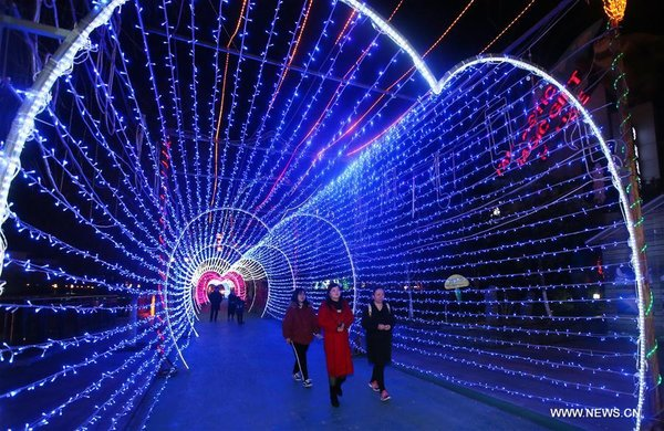 Lantern Fair Held to Celebrate Lunar New Year across China