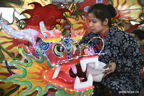 Female Intangible Cultural Heritage Inheritors Mark Int'l Women's Day in E China