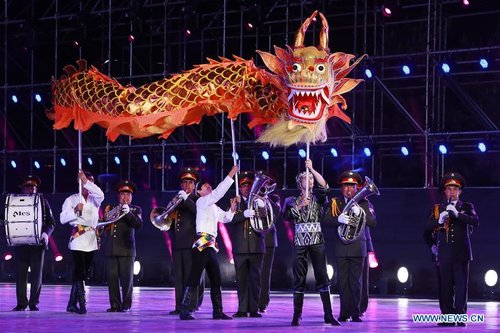 5th SCO Military Band Festival Held in Beijing