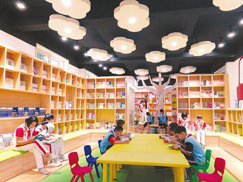 Xinhua Bookstore Promotes Reading at Shuozhou School