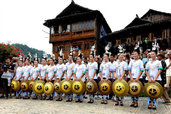Dong Village Shows Charm in SW China's Guizhou