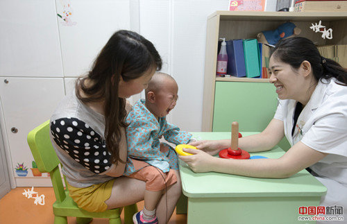 CCTF Helps Physically Disabled Children Acquire Ability to Hear