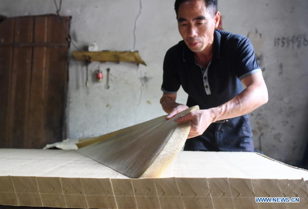 National Intangible Cultural Heritage: 'Xishan Paper'