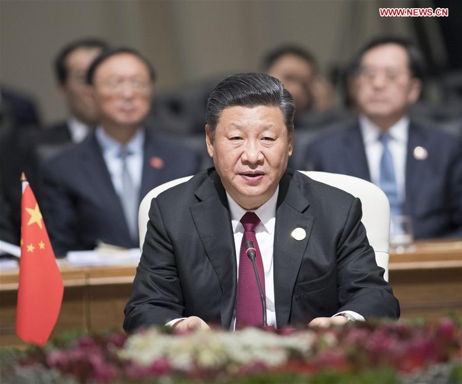 Xi Calls on BRICS Countries to Strengthen Strategic Relationship