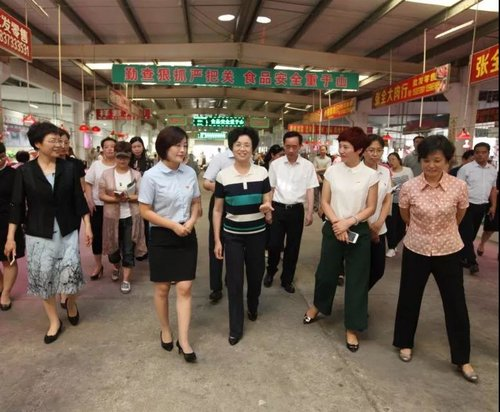 ACWF VP Holds Inspection Tour in C China's Henan