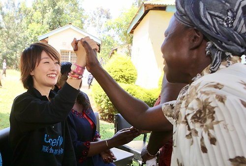 Ma Yili Stresses Maternal, Newborn Health in Africa Visit