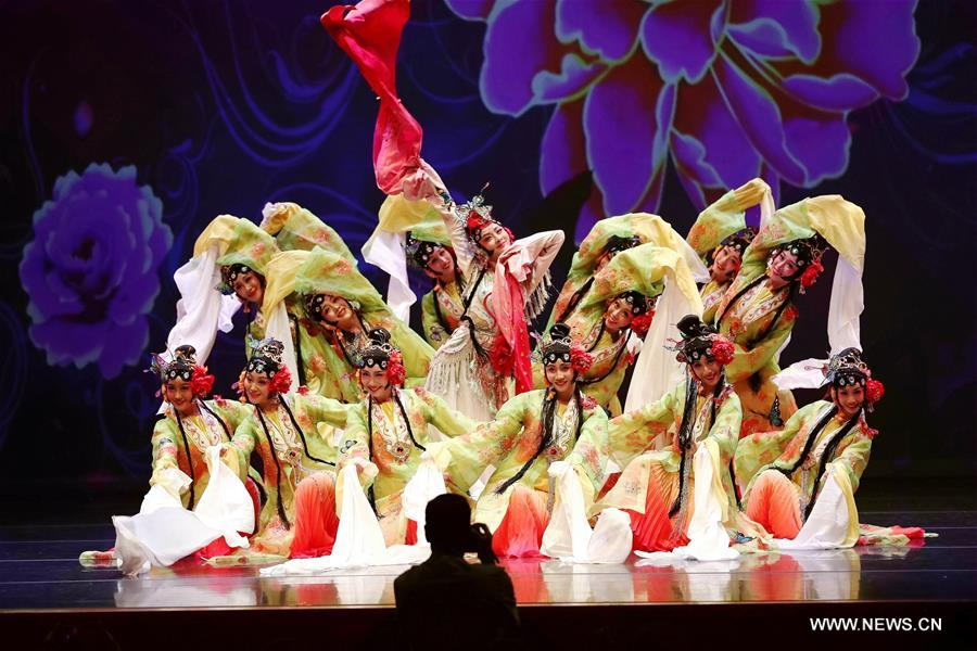 Poem-dance Drama Staged in Chicago to Mark China's Traditional Festival