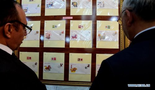 China-Afghanistan Post Stamp Exhibition Held in Kabul to