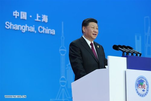 Xi Attends China International Import Expo