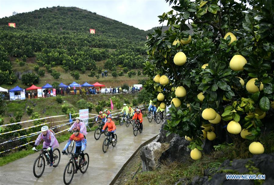 Various Outdoor Sports Events Held across China