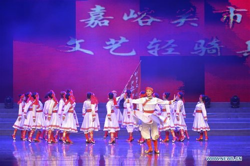 Gala Celebrating 40th Anniv. of China's Reform and Opening-up Held in NW China's Gansu