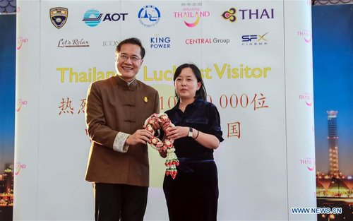 Chinese Visitors to Thailand Hit 10 Mln for 1st Time