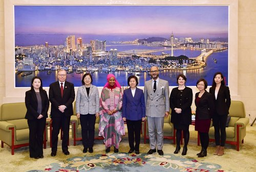 ACWF President Meets with UN Women Chief