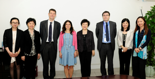 ACWF VP Meets French Senior Politician