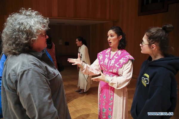 An American Lady's Unbelievable Journey of Peking Opera