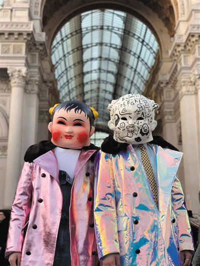 Chinese Folk Cultural Masks Debut at Milan Fashion Week