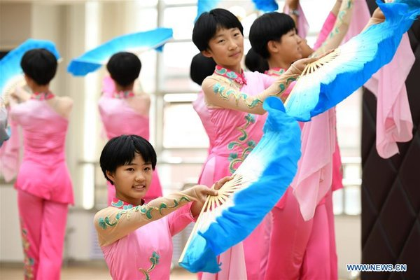 #CHINA-HEBEI-SHIJIAZHUANG-FOLK DANCE (CN)