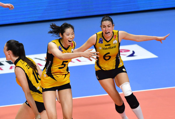 Chinese Volleyball Captain Zhu Ting to Leave VakifBank, Back to China
