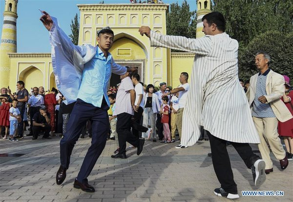 Corban Festival Celebrated in Kashgar, China's Xinjiang