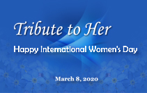 Tribute to Those on Front Line —— Celebrating International Women